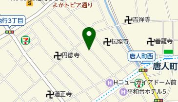 【予約制】リパーク toppi! 福岡市中央区地行1丁目13ー28の地図画像