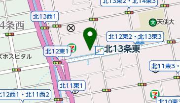 【予約制】リパーク toppi! 札幌市東区北十三条東1丁目2-39の地図画像