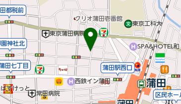 【専用アプリDL必須】Peasy大田区西蒲田7丁目第1の地図画像