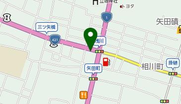ザ・パーク三ツ矢橋の地図画像