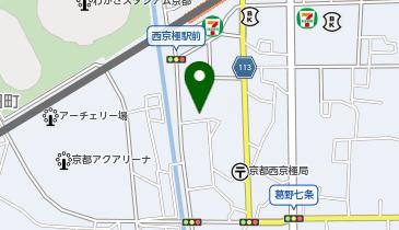フルーツパーク西京極駅の地図画像