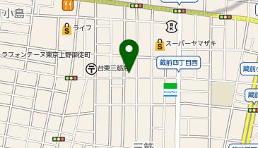 ザ・パーク三筋2丁目の地図画像