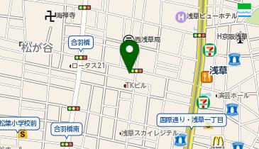 ザ・パーク西浅草2丁目の地図画像