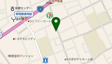ザ・パーク金町1丁目第1の地図画像