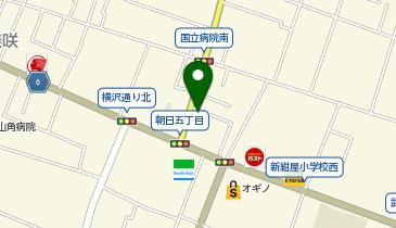 ザ・パーク甲府朝日5丁目の地図画像