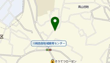 ザ・パーク宮前区・平の地図画像