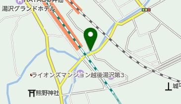 CoCoLo(ココロ)湯沢駐車場の地図画像