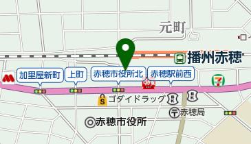 赤穂駅南駐車場の地図画像