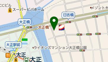 【専用アプリ必須駐車場】スマートパーキング JP桜川 2番車室の地図画像