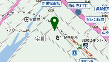 ザ・パーク呉レクレガーデンの地図画像