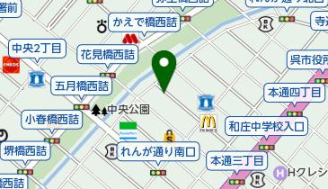 ザ・パーク呉中通の地図画像