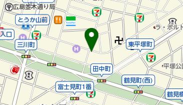 ザ・パーク田中町第1の地図画像