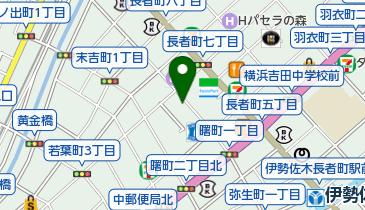 ザ・パーク若葉町の地図画像