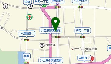 ザ・パーク小田原栄町第3の地図画像