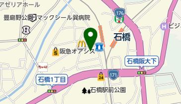 石橋商店街駐輪場第2の地図画像