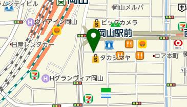 本町路上自転車駐車場の地図画像
