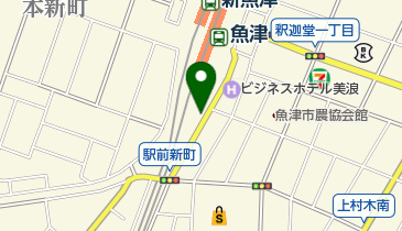 JR魚津駅南側自転車等駐車場の地図画像
