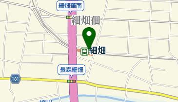 細畑駅自転車駐車場の地図画像