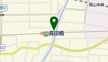 高田橋駅自転車駐車場の地図画像