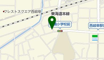 市橋自転車駐車場の地図画像