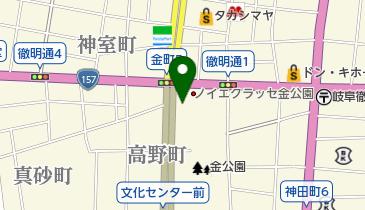 金町自転車駐車場の地図画像