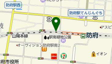 防府駅西自転車等駐車場の地図画像