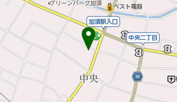 レンタサイクル 加須市商工会館の地図画像