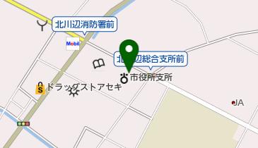レンタサイクル 北川辺総合支所の地図画像