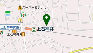 上石神井駅北第1自転車駐車場の地図画像