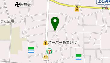 上石神井自転車駐車場の地図画像