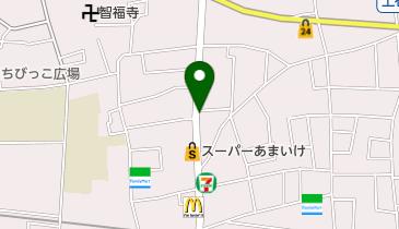上石神井タウンサイクルの地図画像