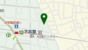 下井草北第一自転車駐車場の地図画像