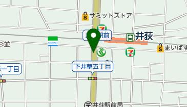 井荻南地下自転車駐車場の地図画像