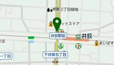 井荻北地下自転車駐車場の地図画像
