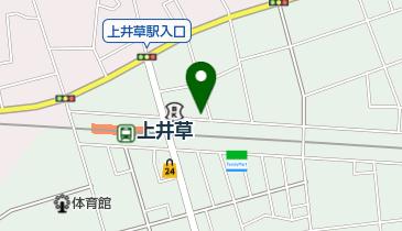 上井草北自転車駐車場の地図画像