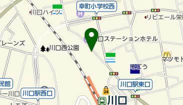 【バイク】川口駅前第2駐輪場の地図画像