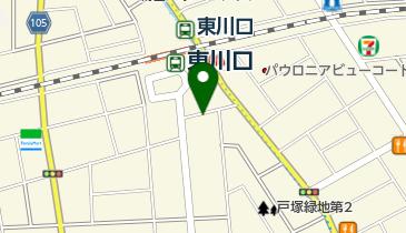 【バイク】東川口駅前駐輪場の地図画像