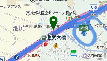 【バイク】目黒区営池尻大橋駅北口駐輪場の地図画像