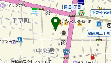 【バイク】一番街第一自転車駐輪場の地図画像