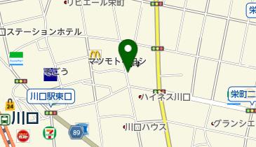 【バイク】栄町自転車駐車場の地図画像