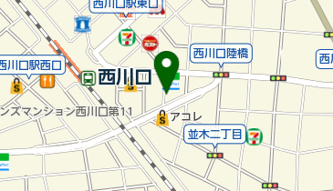 【バイク】しいの木駐車場の地図画像