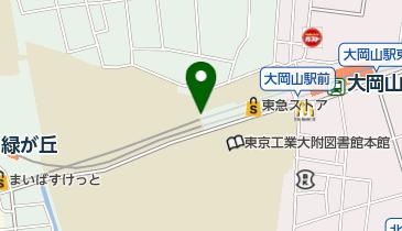 【バイク】大岡山駅前第二駐輪場の地図画像