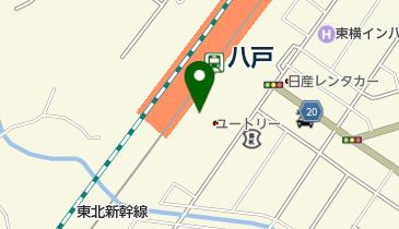 【バイク】八戸駅駐輪場の地図画像