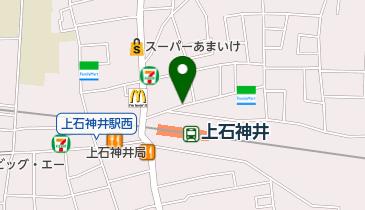 リパーク上石神井駅前第4駐輪場の地図画像