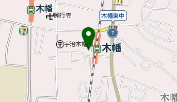 株式会社京都アニメーション 本社の地図画像